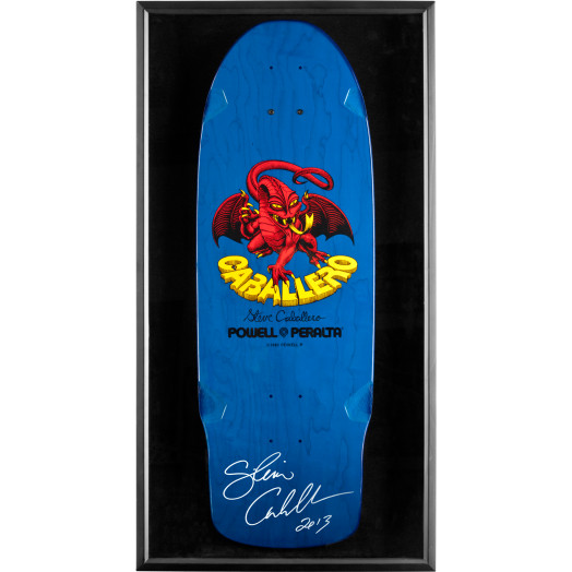 Bones Brigade Shadowbox Cab BLEM Deck Signed by Cab