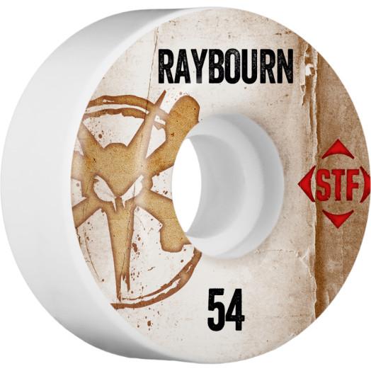 BONES WHEELS STF Pro Raybourn Team Vintage Wheel 54mm 4pk