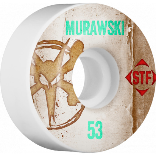 BONES WHEELS STF Pro Murawski Team Vintage Wheel 53mm 4pk