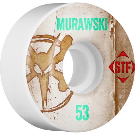 BONES WHEELS STF Pro Murawski Team Vintage Wheel 53mm 4pk