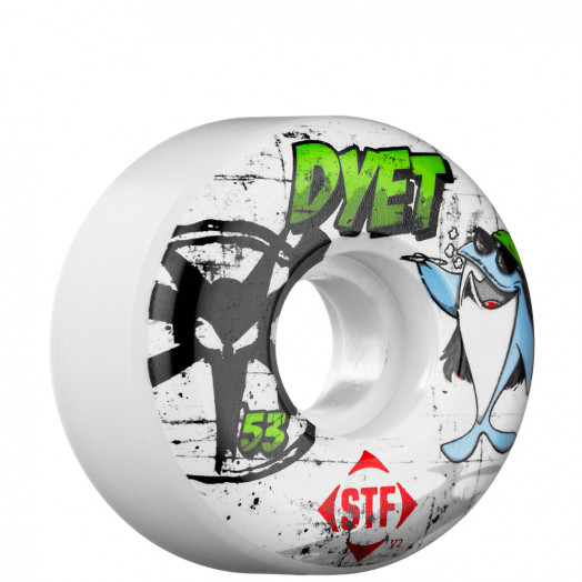 BONES WHEELS STF Pro Dyet Charlie 53mm Wheel 4pk
