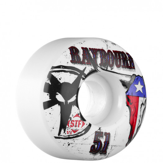 BONES WHEELS STF Pro Raybourn Pride 51mm Wheel (4 pack)