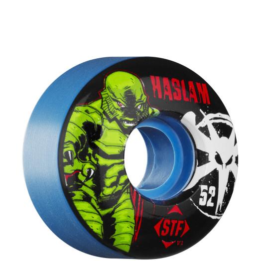 BONES WHEELS STF Pro Haslam Lagoon Wheel 52mm - Blue (4 pack)