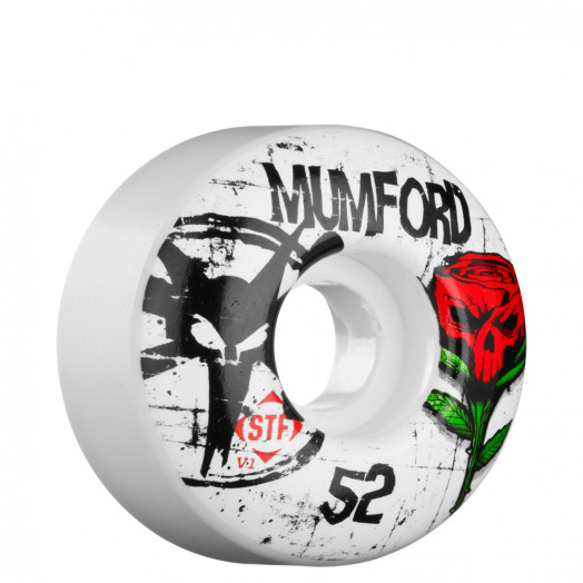 BONES WHEELS STF Pro Mumford Tuff Love 52mm Wheel (4 pack)