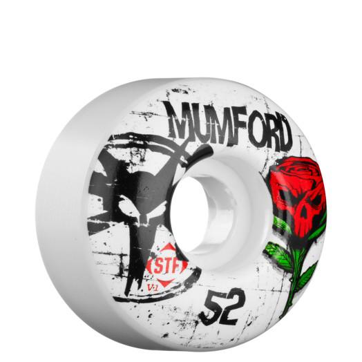 BONES WHEELS STF Pro Mumford Tuff Love 52mm Wheel (4 pack)