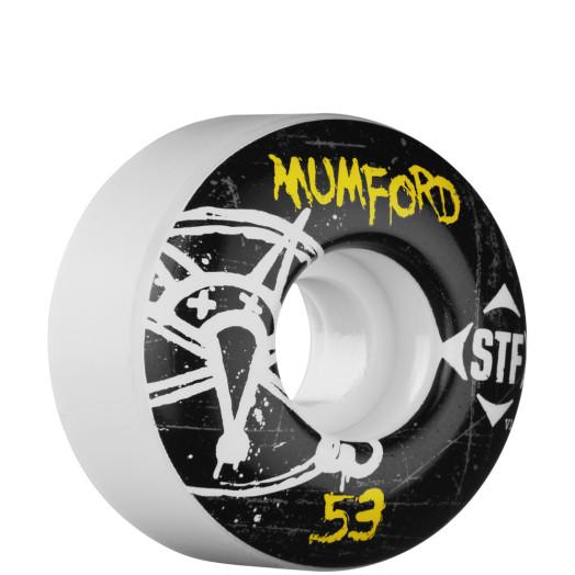 BONES WHEELS STF Pro Mumford Oh Gee 53mm (4 pack)