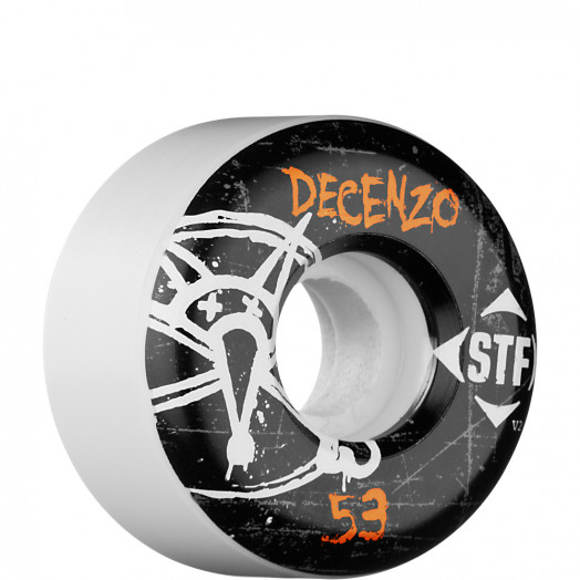 BONES WHEELS STF Pro Decenzo Oh Gee 53mm (4 pack)