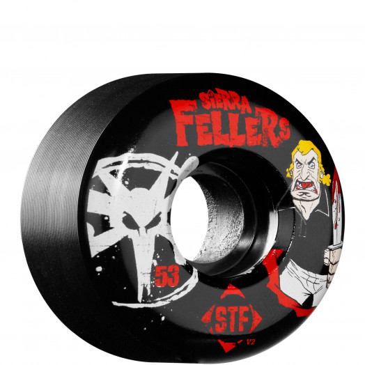 BONES WHEELS STF Pro Sierra Bro 53mm - Black (4 pack)