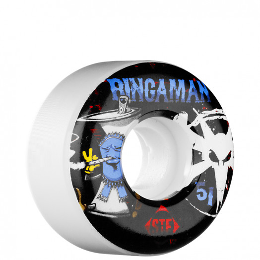 BONES WHEELS STF Pro Bingaman Vices 51mm Wheel (4 pack)