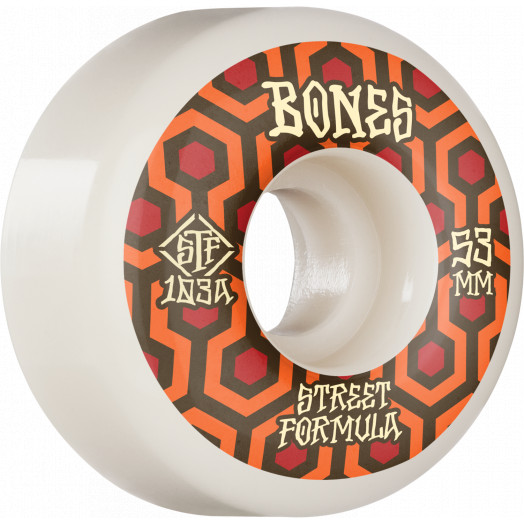 BONES WHEELS STF Skateboard Wheels Retros 53 V1 Standard 103A 4pk
