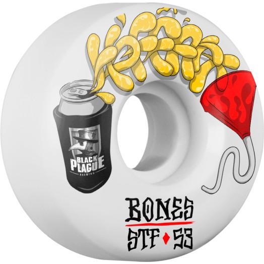 BONES WHEELS STF Pro Hoffart Beer Bong Skateboard Wheel V2 53mm 103A 4pk