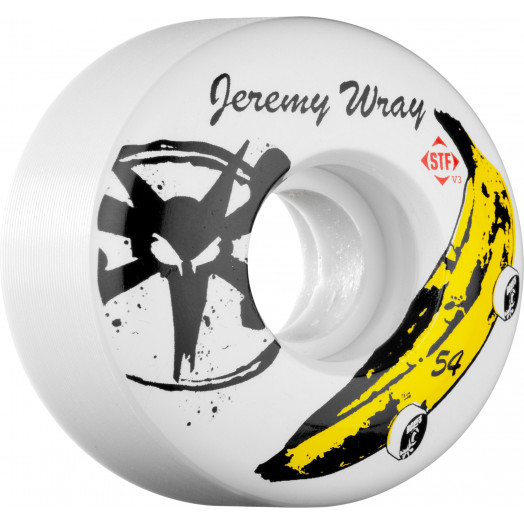 BONES WHEELS STF Pro Wray Banana 54mm (4 pack)