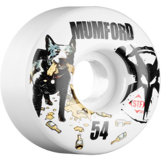 BONES WHEELS STF Pro Mumford Blue Dog 54mm (4 pack)