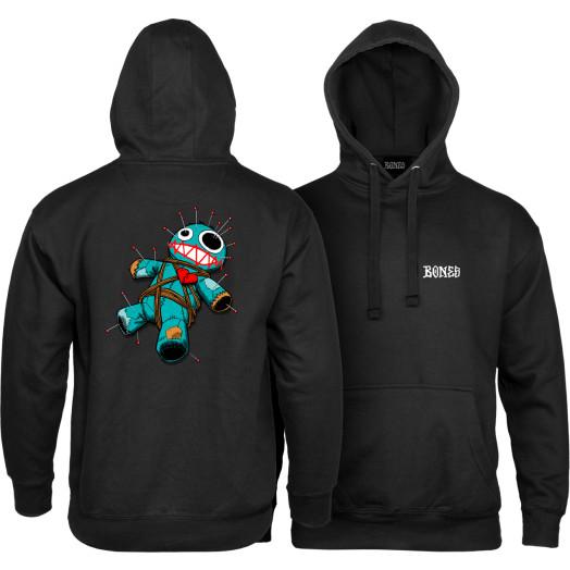 BONES WHEELS VooDoo Hooded Sweatshirt Black