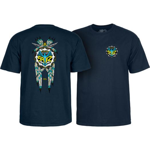 Powell Peralta Steve Saiz Totem T-Shirt Navy