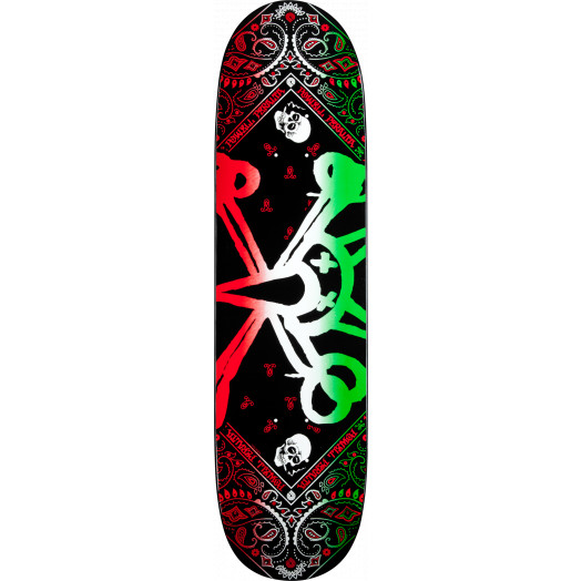 Powell Peralta Vato Rat Band Green Deck - 8.125 x 31.25