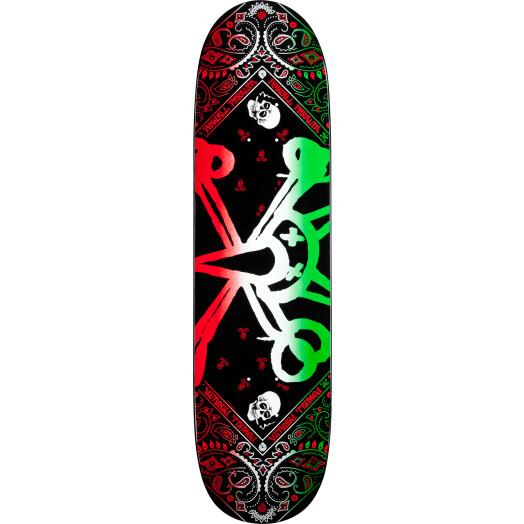 Powell Peralta Vato Rat Band Green Skateboard Deck - 8.125 x 31.25