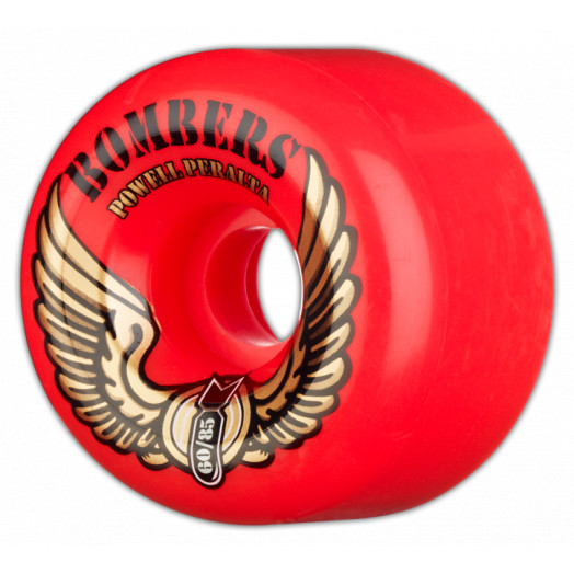 Powell Peralta Bombers 60mm 85a - Red (4 pack)