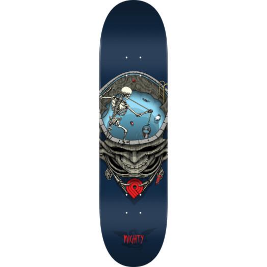 Powell Peralta Pro Mighty Pool Skateboard Deck Blue - Shape 242 - 8 x 31.45