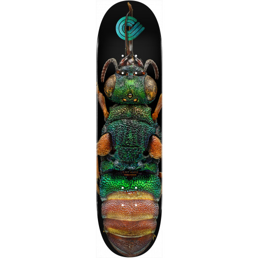Powell Peralta BISS Ruby Tailed Wasp Skateboard Deck - Shape 244 K20 - 8.5 x 32.08