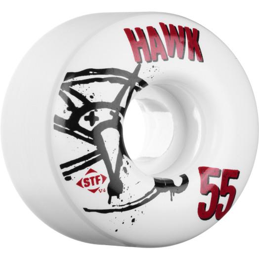 BONES WHEELS STF Pro Tony Hawk Numbers 55mm 4pk