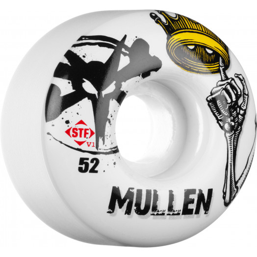BONES WHEELS STF Pro Mullen Crown 52mm (4 pack)