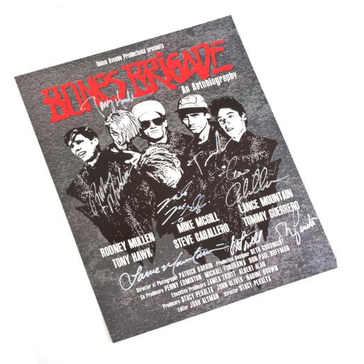 Bones Brigade Vault Item - Film Festival Poster Signed