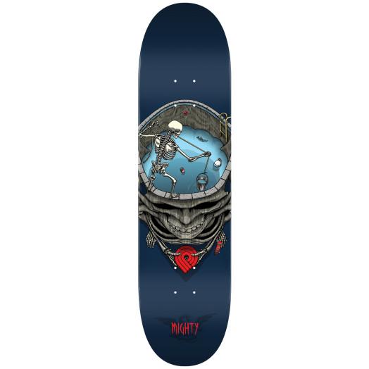Powell Peralta Pro Mighty Pool Skateboard Blem Deck Blue - Shape 242 - 8 x 31.45