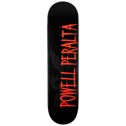 Powell Peralta LIGAMENT Logo Skateboard Deck Black - 8.25 x 32.5