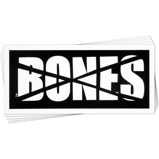 BONES WHEELS Impact Sticker 20pk