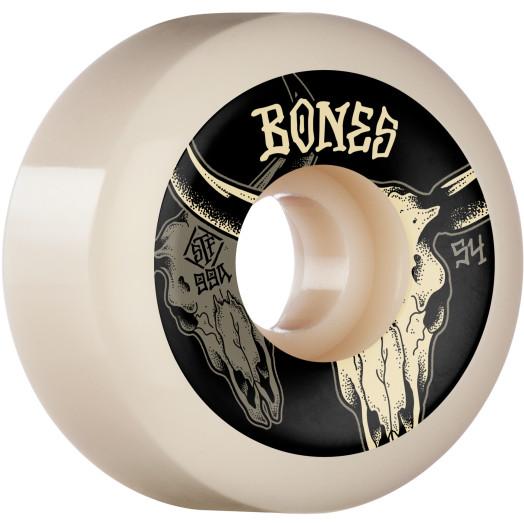 BONES WHEELS STF Formula Skateboard Wheels Desert Horns 54mm V5 Sidecut 99A 4pk