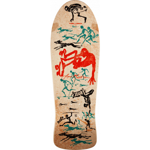 Bones Brigade® Lance Mountain OG Future Primitive Reissue Skateboard Deck - 9.94 x 30