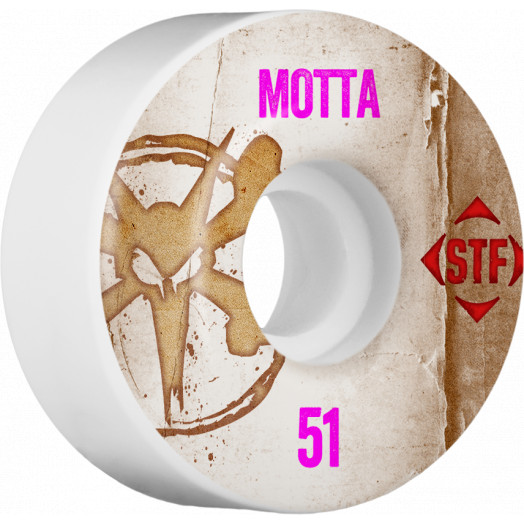 BONES WHEELS STF Pro Motta Team Vintage Wheel 51mm 4pk