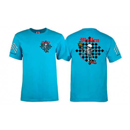 Bones Brigade® Mullen Chess T-shirt - Turquoise