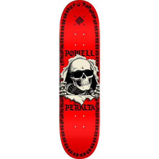 Powell Peralta Ripper Chainz Skateboard Deck Red - Shape 242 - 8 x 31.45