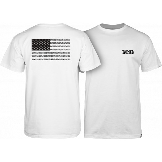 BONES WHEELS Pride T-shirt - White