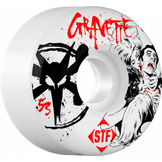 BONES WHEELS STF Pro Gravette Killers 53mm wheels 4pk