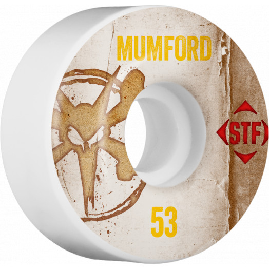 BONES WHEELS STF Pro Mumford Team Vintage Wheel 53mm 4pk