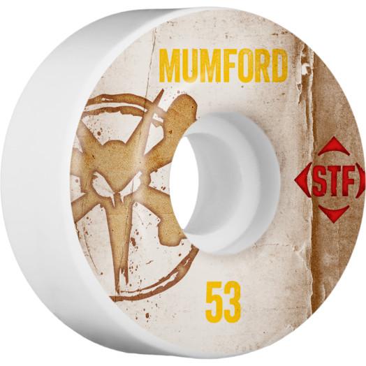 BONES WHEELS STF Pro Mumford Team Vintage Wheel 53mm 4pk