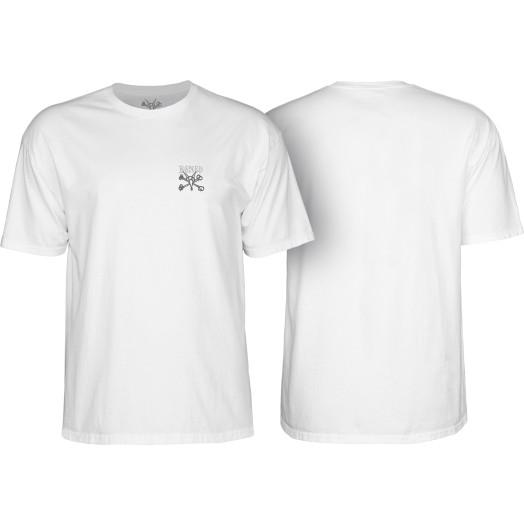 BONES WHEELS Chester T-shirt White