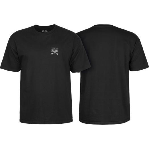 BONES WHEELS Chester T-shirt Black