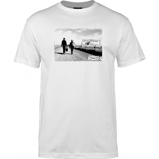BONES WHEELS T-shirt Relax White