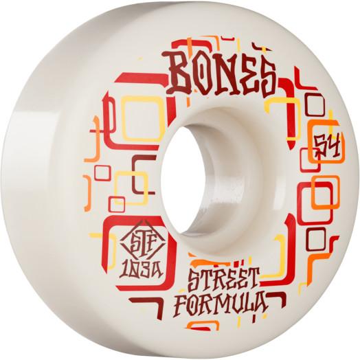 BONES WHEELS STF Skateboard Wheels Retros 54 V3 Slims 103A 4pk