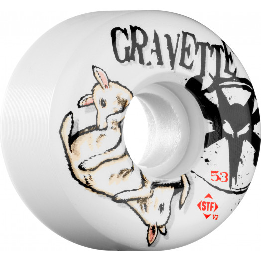 BONES WHEELS STF Pro Gravette Lambchop 53mm (4 pack)