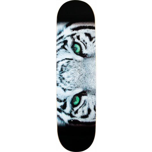 Mini Logo Chevron Tiger Eyes Skateboard Deck - 8.25 x 32.5