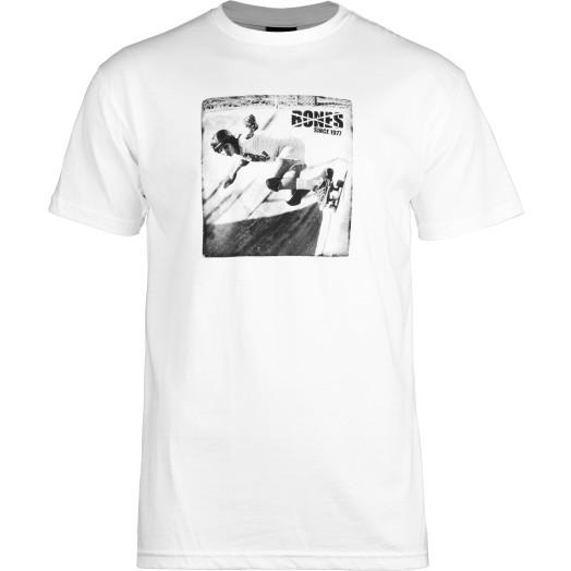 BONES WHEELS T-shirt Roots White