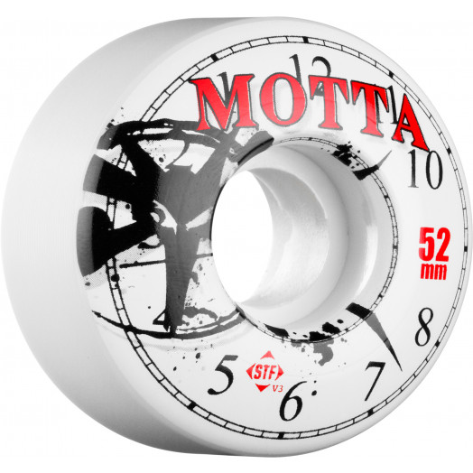 BONES WHEELS STF Pro Motta Time Warp 52mm (4 pack)