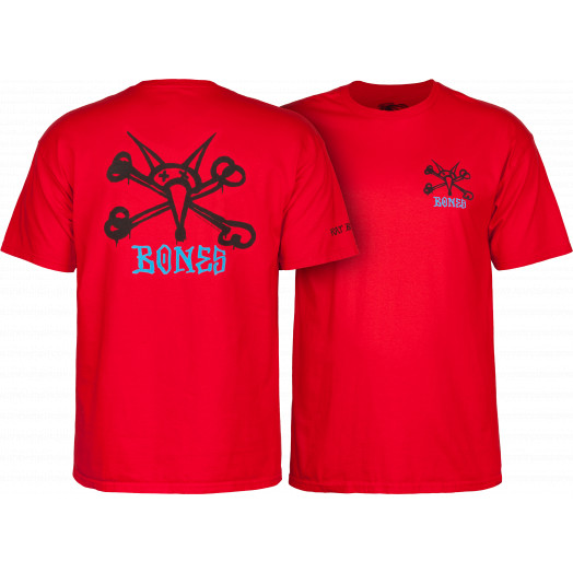 Powell Peralta Vato Rat Youth T-shirt - Red