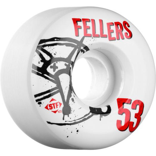 BONES WHEELS STF Pro Fellers Numbers 53mm 4pk