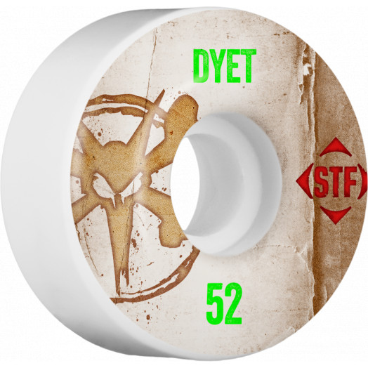BONES WHEELS STF Pro Dyet Team Vintage Wheel 52mm 4pk
